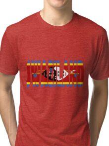 Swaziland Tri-blend T-Shirt