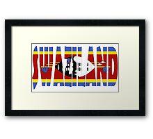 Swaziland Framed Print