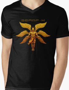 SERAF-M Custom Graphic Mens V-Neck T-Shirt