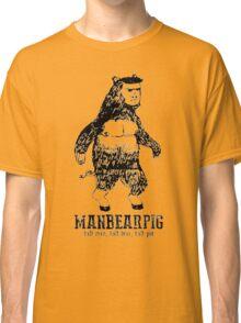 MANBEARPIG South Park Mythical Beast Funny Vintage Classic T-Shirt