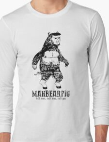 MANBEARPIG South Park Mythical Beast Funny Vintage Long Sleeve T-Shirt