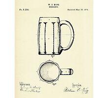 Beer Mug-1876 Photographic Print