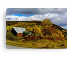 Countryside in Mabou Canvas Print