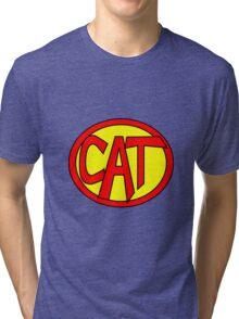Hero, Heroine, Superhero, Super Cat Tri-blend T-Shirt
