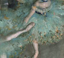 Edgar Degas - Swaying Dancer (Dancer in Green) (1877 - 1879) Sticker