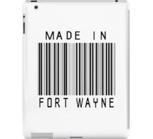 Made in Fort Wayne iPad Case/Skin