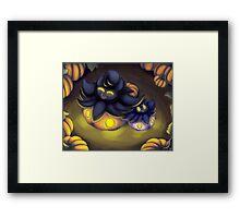 Pumpkaboo Patch Framed Print