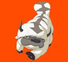 APPA SKY BISON Japanese Anime, Flying, The Last Airbender Avatar Kids Tee