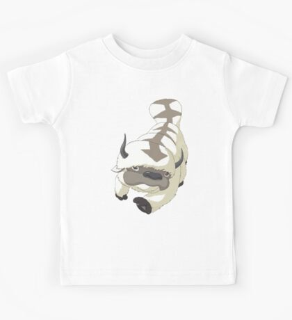 APPA SKY BISON Japanese Anime, Flying, The Last Airbender Avatar Kids Tee