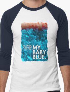 BABY BLUE LYRICS Breaking Bad Finale Badfinger, Heisenberg, Blue Meth Men's Baseball ¾ T-Shirt