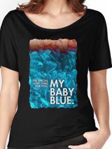 BABY BLUE LYRICS Breaking Bad Finale Badfinger, Heisenberg, Blue Meth Women's Relaxed Fit T-Shirt