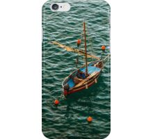 Italy fisherboat iPhone Case/Skin