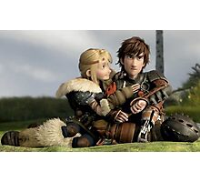 Astrid 2 - How to Train Your Dragon Photographic Print