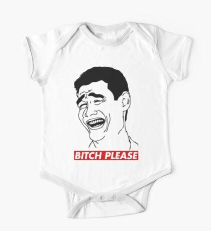 BITCH PLEASE Yao Ming Face, Meme, Rage Comics, Geek, Funny One Piece - Short Sleeve