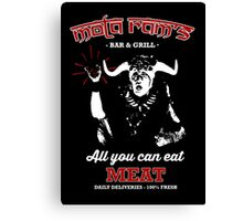 Mola Ram's Bar & Grill Canvas Print