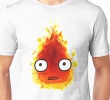 CALCIFER Japan Fire Spirit, Totoro Unisex T-Shirt