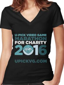 UPickVG 2016 Women's Fitted V-Neck T-Shirt