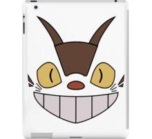 CAT BUS FACE My Neighbor Totoro, Anime, Japanese Catbus iPad Case/Skin
