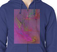 Fractal Fireworks #2 Zipped Hoodie