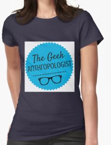 The Geek Anthropologist Logo Womens Fitted T-Shirt