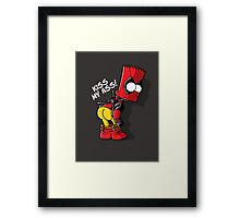Bartpool Framed Print