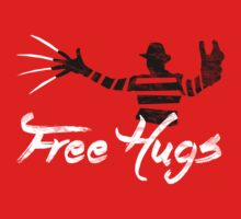 Free Hugs Freddy Kids Tee