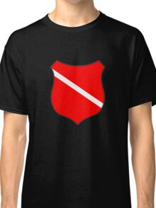 Dive flag shield Classic T-Shirt