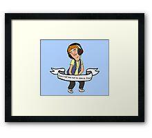 Jimmy Jr.  Framed Print