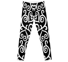 Hearted Elegance Leggings