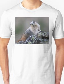 Alaska Marmot Portrait Unisex T-Shirt