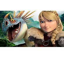 Astrid 1 - How to Train Your Dragon Photographic Print