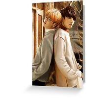 Jikook Greeting Card