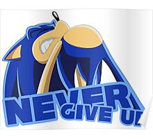 Sonic - Never Give Up Poster