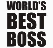 Worlds Best Boss Kids Clothes