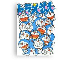 Doraemon's Expresion Canvas Print