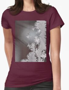 """""""A Portrait of Frost""""  Womens Fitted T-Shirt"""