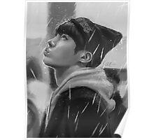 Hoseok rain Poster