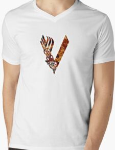 Fire red Vikings logo T-Shirt