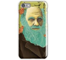 Charles Darwin and his Finches iPhone Case/Skin