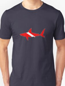 Dive flag shark T-Shirt