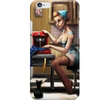 Pin Up Seamstress iPhone Case/Skin