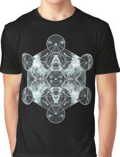 Metatron's Cube Graphic T-Shirt