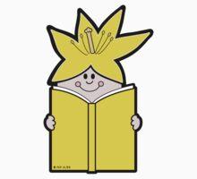 Reading Rainbow in Harmony - Yellow Baby Tee