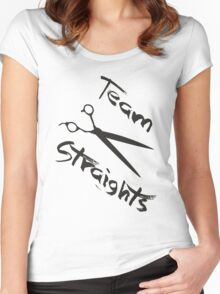 Team Straights Women's Fitted Scoop T-Shirt