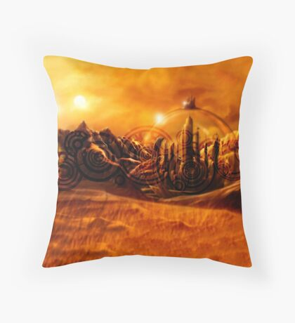 Doctor Who - Gallifrey & Doctor's Name Throw Pillow