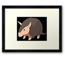 Tiny armadillo Framed Print