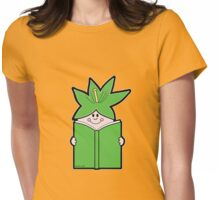 Reading Rainbow in Harmony - Green Womens Fitted T-Shirt