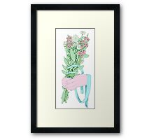 Bouquet (notext) Framed Print