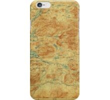 New York NY Blue Mountain 139267 1903 62500 iPhone Case/Skin