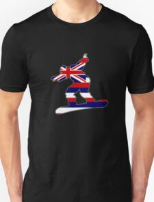 Hawaii flag snowboarder T-Shirt